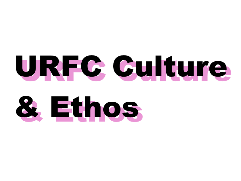 URFC – Code Of Conduct